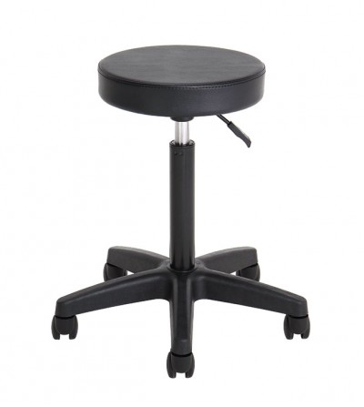Simon hair salon stool adjustable in height