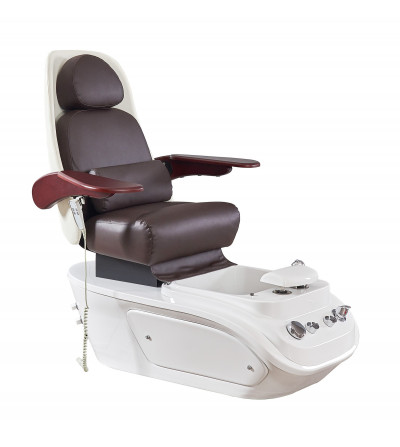 Nun Bordeaux foot care chair